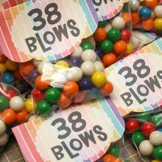 38 blows DIY Gift Happy Birthday