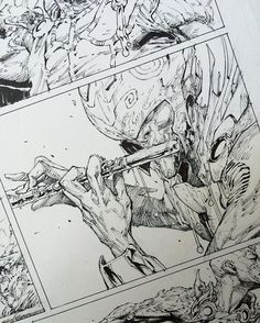 Zamfir, The Pan Flute King 🎶 Seven To Eternity coming out next month from Image Comics Comic Book Pages, Comic Book Artists, Comic Books Art, Comic Art, Reference Manga, Drawing Reference, Manga Drawing, Manga Art, Bd Cool