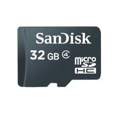 Sandisk 32GB microSD Card with Adapter - Listing price: $199.99 Now: $22.48 + Free Shipping