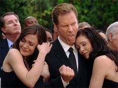 LOL wedding crashers, screwing a woman you saw at a funeral (lol total horndog and so wrong lol), and Ma! Wedding Crashers Quotes, Will Ferrell Wedding Crashers, Wedding Guest List, Budget Wedding, Wedding Dress Preservation, 8th Wedding Anniversary Gift, Movie Guide, Inexpensive Wedding Venues, Interracial Love