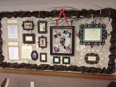 A beautiful RS bulletin board in the Charlestown, IN Ward.  Created by Stacey White