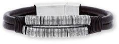 Men's Steve Madden 'Rondelle' Cord Bracelet