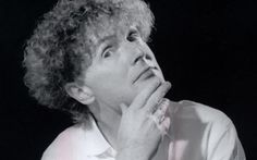 Malcolm McLaren, manager of the Sex Pistols.
