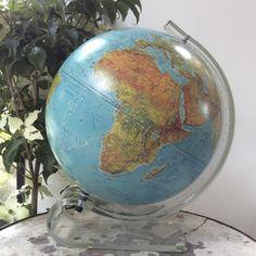 globe terrestre éclairant Plexiglass, Globes, Globe, World Globes