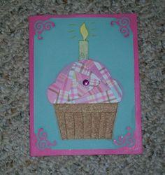 Cupcake Iris-Folded Card by FoldsWithLoveByHolly on Etsy, $4.00