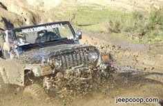muddin in the jeep
