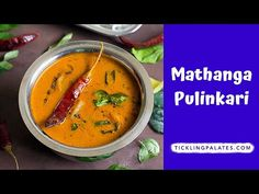 Mathanga Pulinkari Recipe with stepwise photos. Kerala style yellow pumpkin gravy made of tamarind with freshly ground paste coconut along with spices.