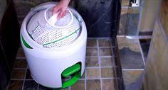 La machine à laver à pédale !