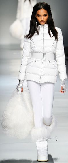 Blumarine :: Fall RTW 2012 (♥ Adorable Snow Bunny Outfit - makes me miss cold weather)