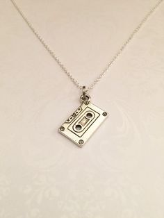 Cassette Tape Necklace