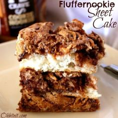 ~Fluffernookie Sheet Cake!