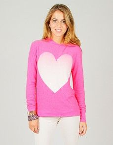 Wildfox #USA #Heart #Sweater #Junior and #Women's #Clothes ...