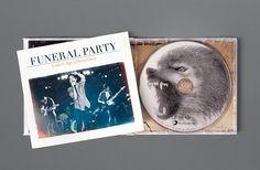 Funeral Party - Golden Age of Knowhere Album Cover Design  Design - Art Direction - Jonny Costello ©fluidesign