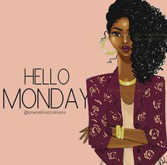 Black Women Quotes, Black Women Art, Beautiful Black Women, Simply Beautiful, Black Girl Art, Black Girl Magic, Art Girl, Black Art Pictures, What Day Is It
