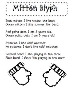 Mittens on Pinterest | Jan Brett, Activities and Printables