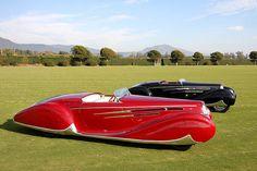 1939 Delahaye 165 M Figoni & Falaschi Cabriolet Match Set by Richard Owen.