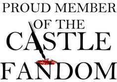 A proud member. Best Tv Shows, Best Shows Ever, Favorite Tv Shows, My Ocd, Richard Castle, Castle Tv Shows, Castle Beckett, Nathan Fillion, Tv Times