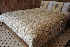 Amazing blanket! Beyond Marrakech: Handira Boutique (Moroccan Wedding Blankets)
