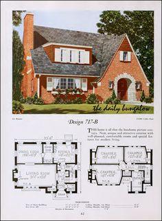 https://flic.kr/p/nUBPuZ | 1920::National Plan Service | Modern Home of the Twenties