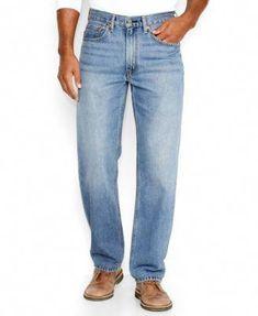 a332b4b8 Levi's 550 Relaxed-Fit Jeans, Lost - Jeans - Men - Macy's #MensJeans