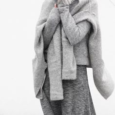 all_gray/cozy style | Sumally