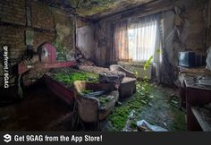 Abandoned home, nature reclaims what us gets. And in it I see so much beauty