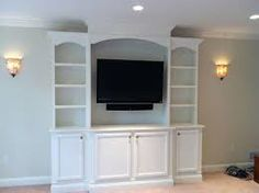 built in television cabinets - Google Search