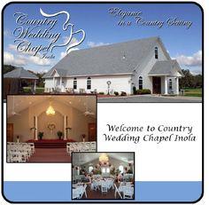 The Wedding Chapel Oklahoma Tulsa Claremore Ceremony Location Darling Little Chapels Pinterest