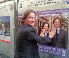 Top 16 des détournements de Charles Beigbeder qui colle des affiches, bravo les twittos