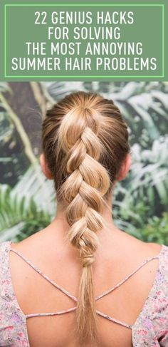 From sweat to scalp sunburn to frizz, your biggest summer hair problems just got solved.
