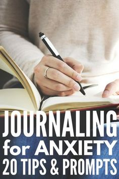 Journaling - Life improving self help tips for anxiety. To keep your thoughts and creativity flowing get your 15 journaling promts.