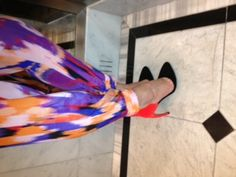 Day 22 - Chicago - still life with Tucker pant and Walter Steiger shoes