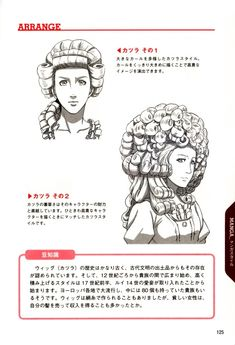 How to Draw Hairstyle Reference B..