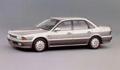 Mitsubishi Sigma JP-spec '1990–94 Classic Japanese Cars, Classic Cars, Mitsubishi Sigma, Middle Management, Japanese Domestic Market, Nissan Maxima, Management Company, Jdm Cars, Fiat