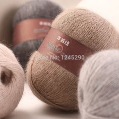 High Quality cashmere wool yarn merino wool yarn knitting wool yarn thin crochet Knitting discount Free Shipping 50g