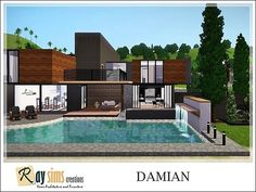 Damian house by Ray Sims for Sims 3