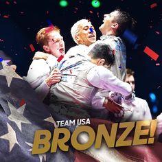 08.12.16 USA Fencing men's foil team claims BRONZE. #Rio2016