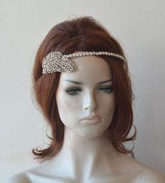 Silver Wedding Crown, Bridal Tiara Headband, Leaf Wedding Crown, Crystal Tiara for Bride, Hair Rhinestone Crown, Wedding Hair Accessories