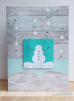 Let it Snow! - Scrapbook.com