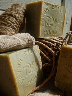 French Soaps, nice display.