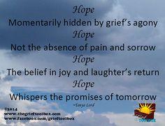 Hope Whispers Tomorrow - A Poem