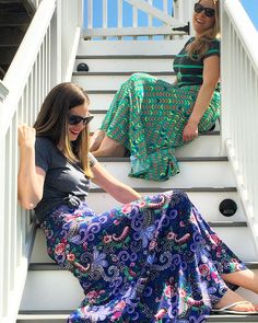 LuLaRoe Maxi Skirt combos!  New inventory coming soon! Check out our page at: www.facebook.com/lularoejacquelineandnicole
