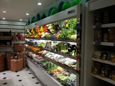 Premier Fruits vegetable display | Refrigeration Install by CRS