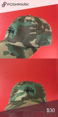 be2b3394923 STUSSY CAMO HAT BRAND NEW STUSSY CAMO HAT