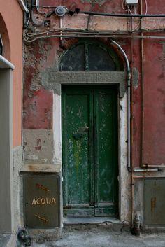 Green door. Italy