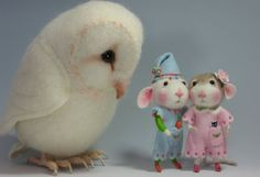 Dressed Mouse/Bunny Class Needle Felting Class PDF by barby303, $45.00