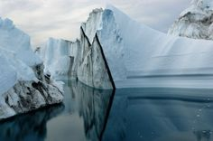 """From James Balog's """"Ice: Portraits of Vanishing Glaciers"""", published by Rizzoli.  Learn more: http://www.rizzoliusa.com/book.php?isbn=9780847838868"""
