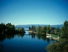 Bigfork Montana Real Estate: Be Tucked up in the trees outside of town or in the heart of it all on Flathead Lake! Wonderful Places, Beautiful Places, Beautiful Scenery, Bigfork Montana, Montana National Parks, Flathead Lake, Big Sky Country, Wyoming, Places To See