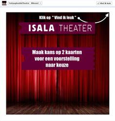 Isala Theater Promo Tab Fangate Non Fan View. $149.95 (prijs = incl. Fan view)