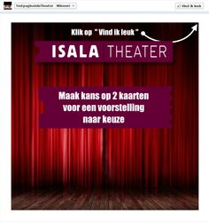 Isala Theater Promo Tab Fangate Non Fan View. $149.95 (prijs = incl. Fan view)